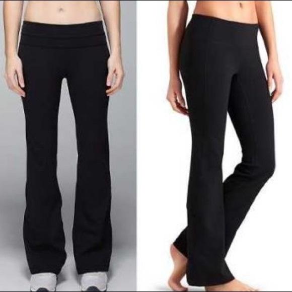0761e6e063faa Athleta Pants - Athleta Bootcut Workout Pants